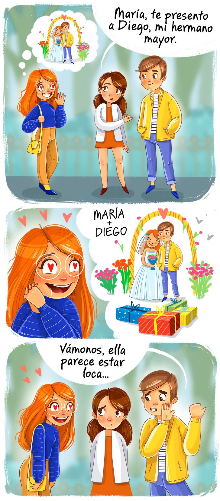 11 Cómics sobre lo que hace toda chica, aunque nunca lo admitan
