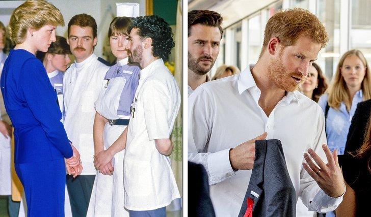 10 Sutiles tributos que los príncipes William y Harry le hicieron a su madre, la princesa Diana