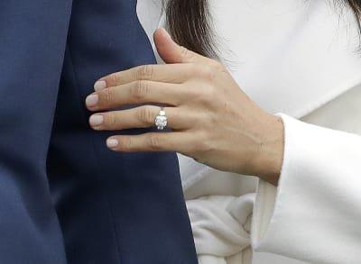 Resultado de imagen de anillo decompromiso deMeghan Markle