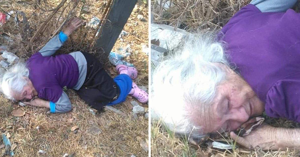 2 157.jpg?resize=1200,630 - 「認知症」になったおばあさんをゴミ捨て場に捨てた非情な家族