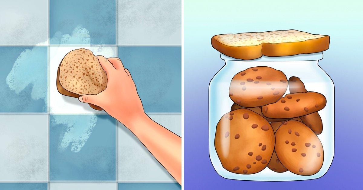 2 251.jpg?resize=1200,630 - 15 Increíbles usos del pan que no imaginabas que fueran posibles
