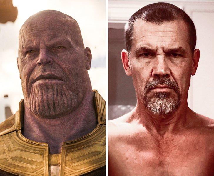 20+ Actores del universo Marvel que se esconden detrás de las máscaras de sus personajes (incluso Vin Diesel está entre ellos)