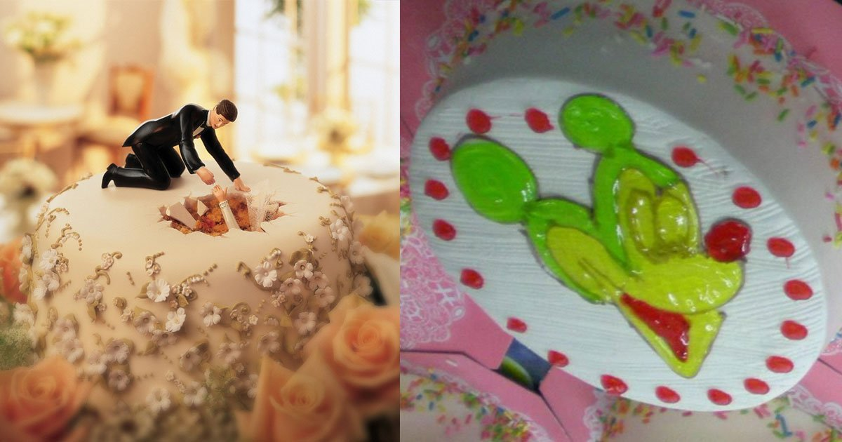 20 hilarious cakes that will make you laugh hard.jpg?resize=1200,630 - 20 gâteaux hilarants qui vous donneront envie de célébrer quelque chose