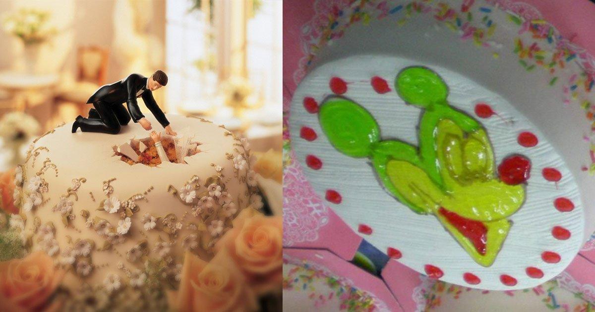 20 hilarious cakes that will make you laugh hard.jpg?resize=412,232 - 20 gâteaux hilarants qui vous donneront envie de célébrer quelque chose