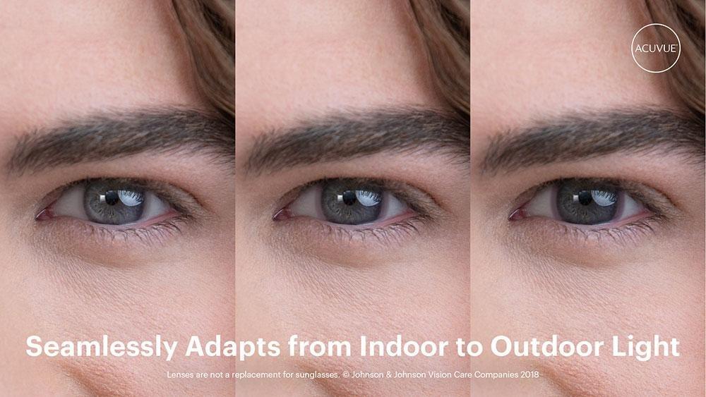 Resultado de imagen de Lentes de contacto que se ajustan a la luz
