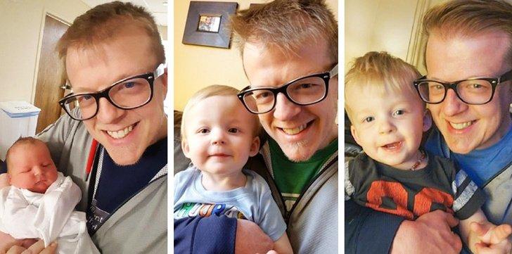 25 Pais que não souberam controlar as emoções ao ver os filhos recém-nascidos