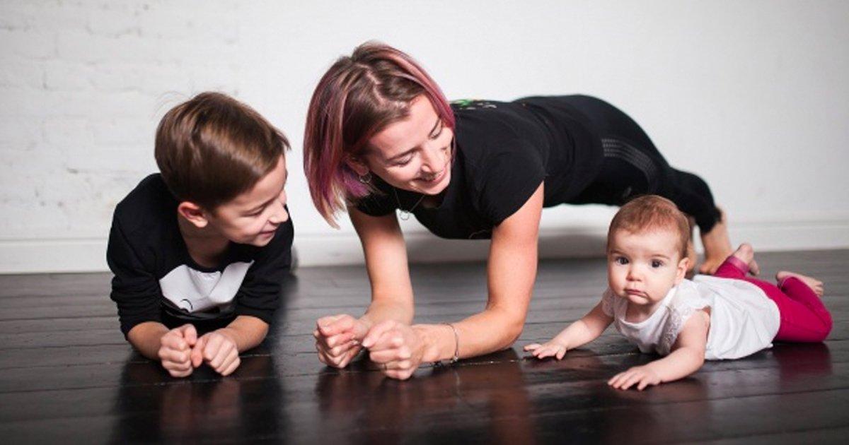 4 175.jpg?resize=1200,630 - Una madre de tres pequeños nos muestra que es posible estar en buena forma
