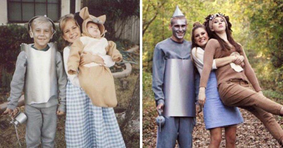 4.jpg?resize=1200,630 - 23 Fotos de família que foram recriadas de forma emocionante e criativa