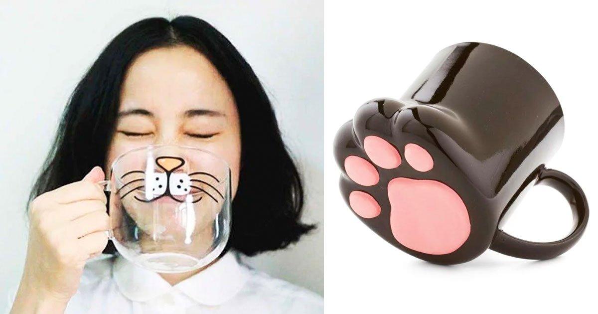 5 68.jpg?resize=412,232 - 15 Adorables diseños de tazas para los amantes de los gatos