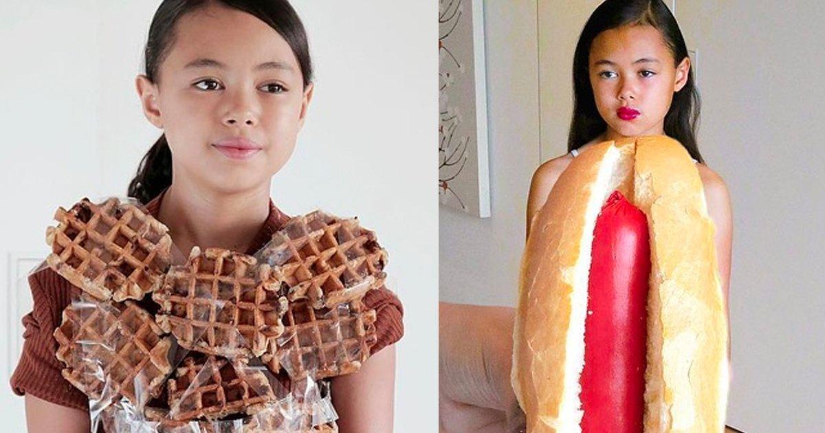 7 78.jpg?resize=1200,630 - Una niña recrea atuendos de celebridades de una forma tan divertida que opaca las versiones originales