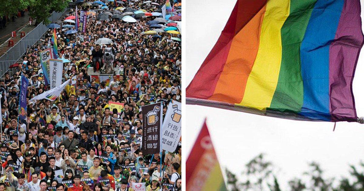8 51.jpg?resize=412,232 - 대만, 아시아에서 최초로 '동성 결혼' 허용.jpg