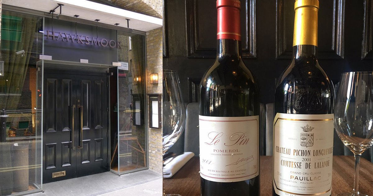 a restaurant in england served a 5726 25 bottle of wine instead of a 330 one and here is how they handled the situation.jpg?resize=300,169 - A Server Accidentally Served A $5,726 Bottle Of Wine Instead Of The $330 One That The Customers Ordered