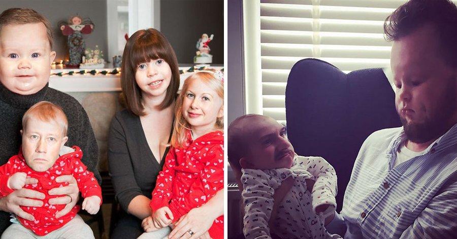 a1 18.jpg?resize=412,232 - 20 Pessoas experimentaram a troca de rostos com bebês e o resultado foi hilário