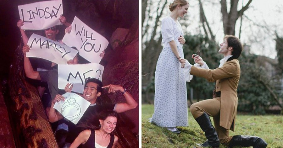 """a2 8.jpg?resize=412,275 - Essas 25 propostas de casamento são tão criativas que não dá pra dizer """"não"""""""