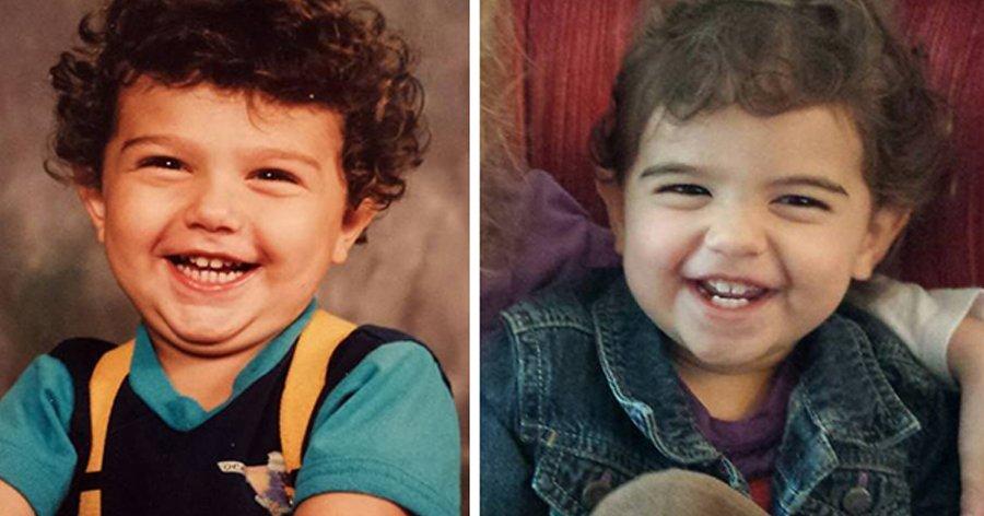 a5 13.jpg?resize=412,232 - 14 Fotos incríveis mostram o poder da genética comparando pais e filhos na mesma idade.