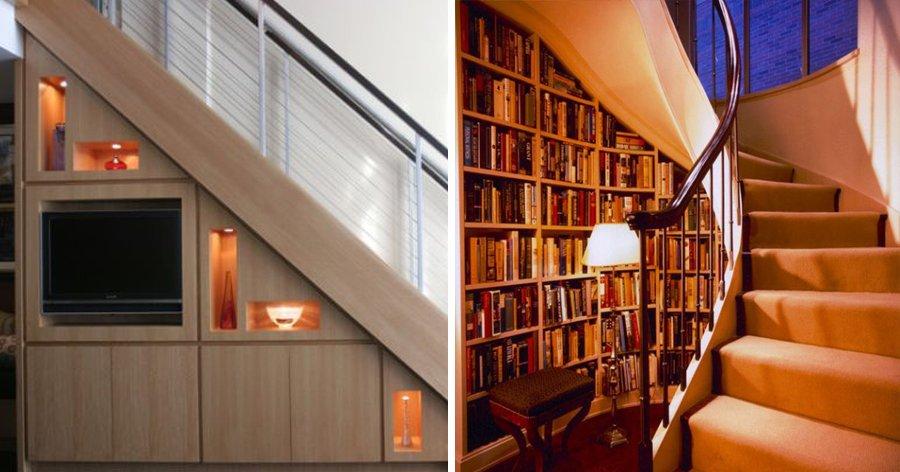 a5 6.jpg?resize=412,275 - 15 Ideias sensacionais para aproveitar o espaço embaixo de sua escada