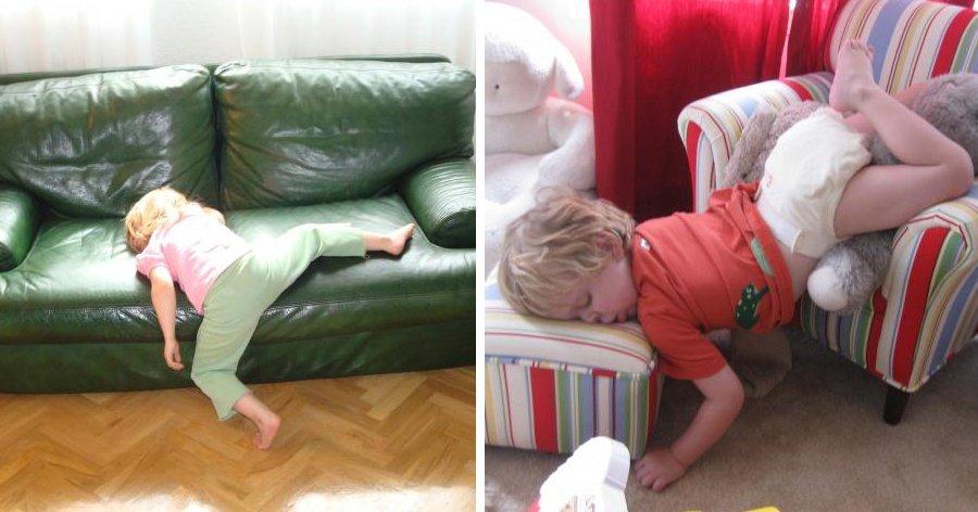 a6 2.jpg?resize=1200,630 - 25 Fotos de crianças que possuem muitas dúvidas sobre como dormir corretamente