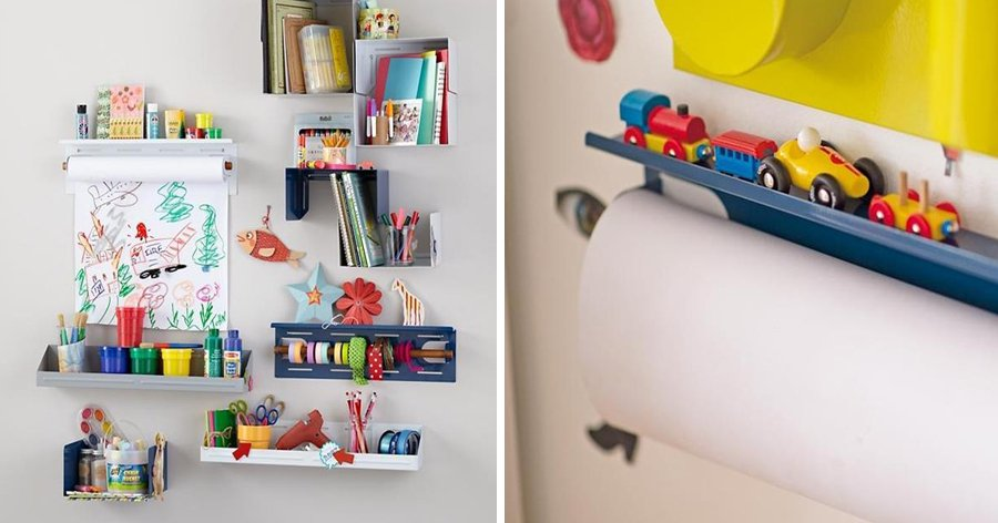 a6 5.jpg?resize=412,232 - 18 Ideias geniais para organizar o quarto das crianças