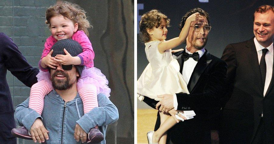 a7 7.jpg?resize=412,275 - 12 Pais famosos mostram que criar uma filha é um verdadeiro prazer