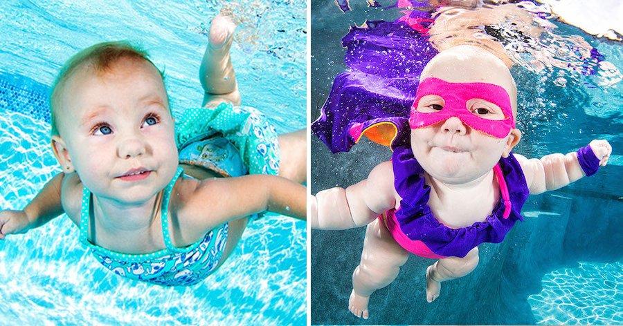 a8 15.jpg?resize=1200,630 - Bebês ou peixinhos? 18 fotos apaixonantes de pequeninos mergulhando na piscina.