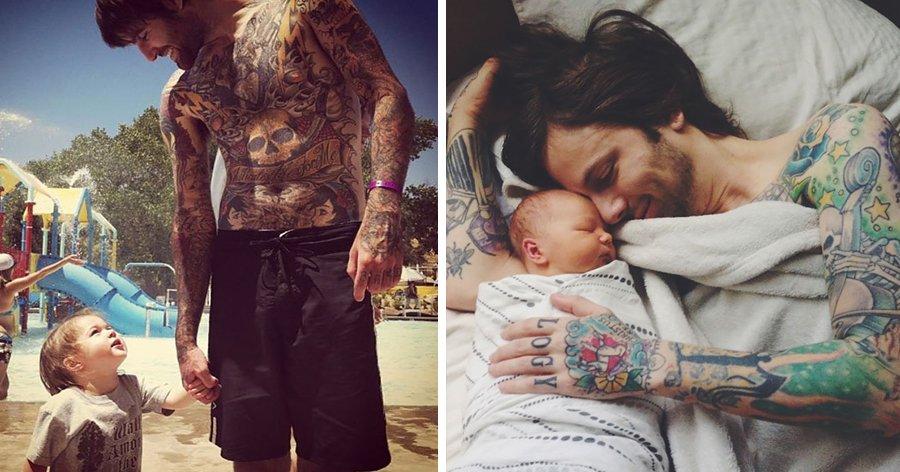 a8 2.jpg?resize=412,232 - 20 Imagens de lindos bebês com seus pais tatuados