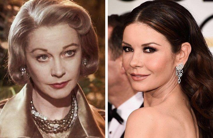 ¿Cómo seven son los actores modernos ylas estrellas del siglo XXa lamisma edad?