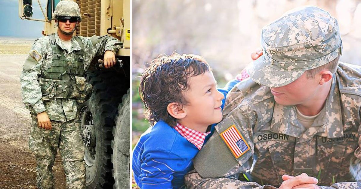 army brother surprise.jpg?resize=1200,630 - Little Brother Prayed Three Times A Day For His Army Brother's Safety For 11 Months - Their Reunion Is Heartwarming