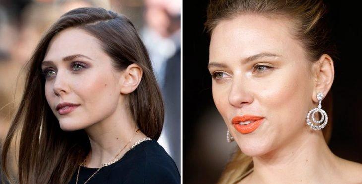 Elizabeth Olsen y Scarlett Johanson