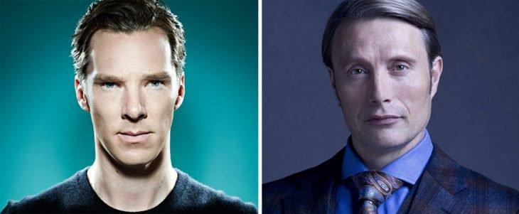 Benedict Cumberbatch y Mads Mikkelsen