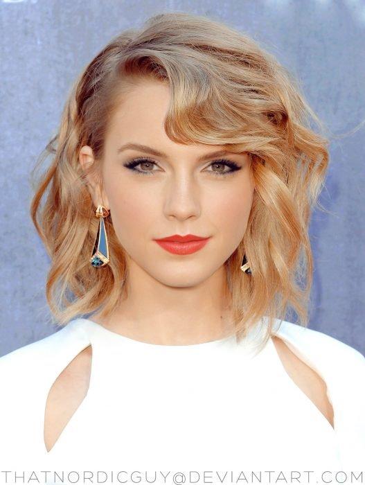 artista combina rostros de Tylor Swift y Emma Watson