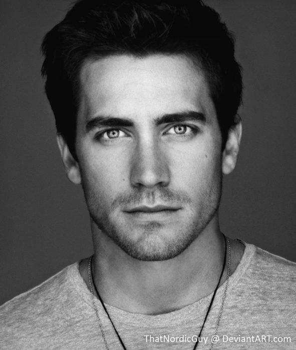 artista combina rostros de Matt Bomer y Jake Gyllenhaal