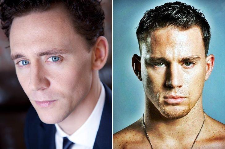 Tom Hiddleston y Channing Tatum