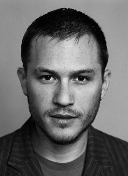 artista combina rostro de Heath Ledger y Tom Hardy