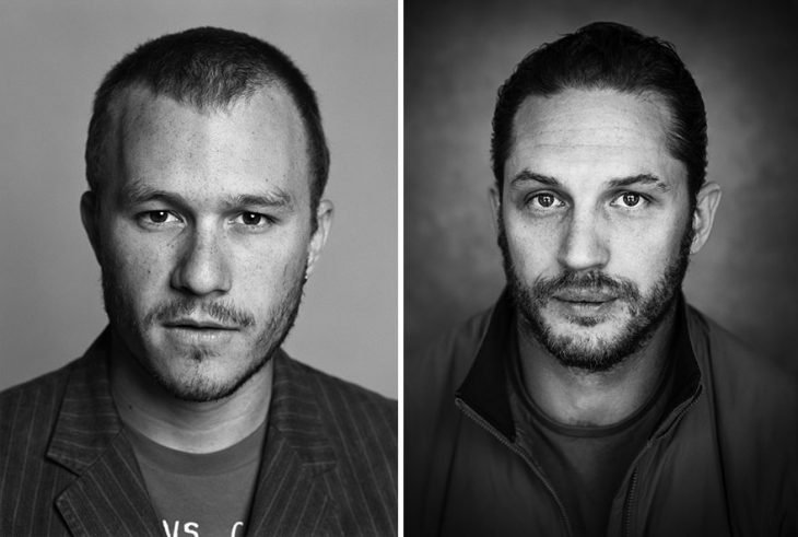 Heath Ledger y Tom Hardy