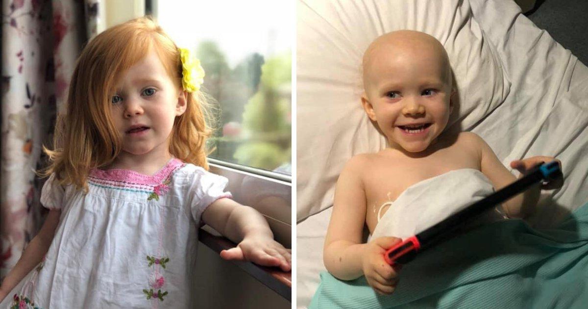 audrina6.png?resize=1200,630 - Une fillette de 4 ans célèbre la fin de son traitement contre le cancer habillée comme un personnage de Star Wars