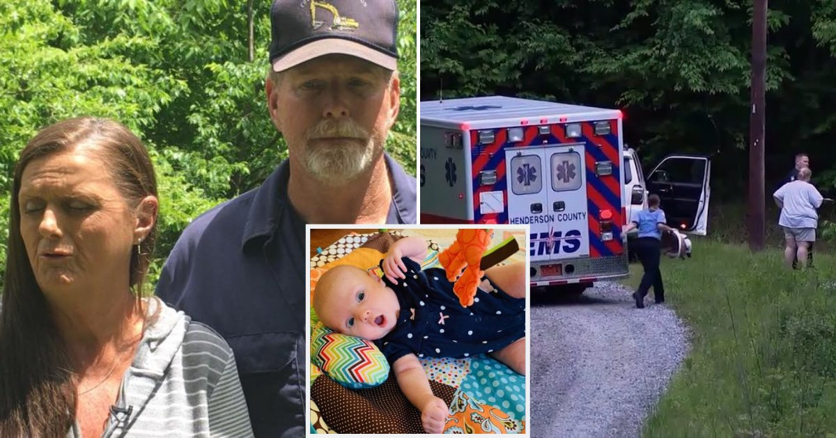 babygirl1.png?resize=412,232 - Couple Hears Faint Cries In The Woods, Finds 7-Week-Old Baby Abandoned At Bottom Of 75-Foot Ravine