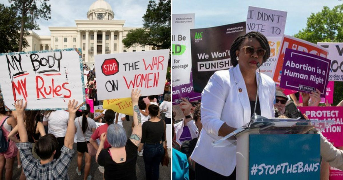 bans2.png?resize=412,232 - Des milliers de personnes à travers les États-Unis se sont mobilisés dans le cadre d'une manifestation contre l'interdiction de l'avortement