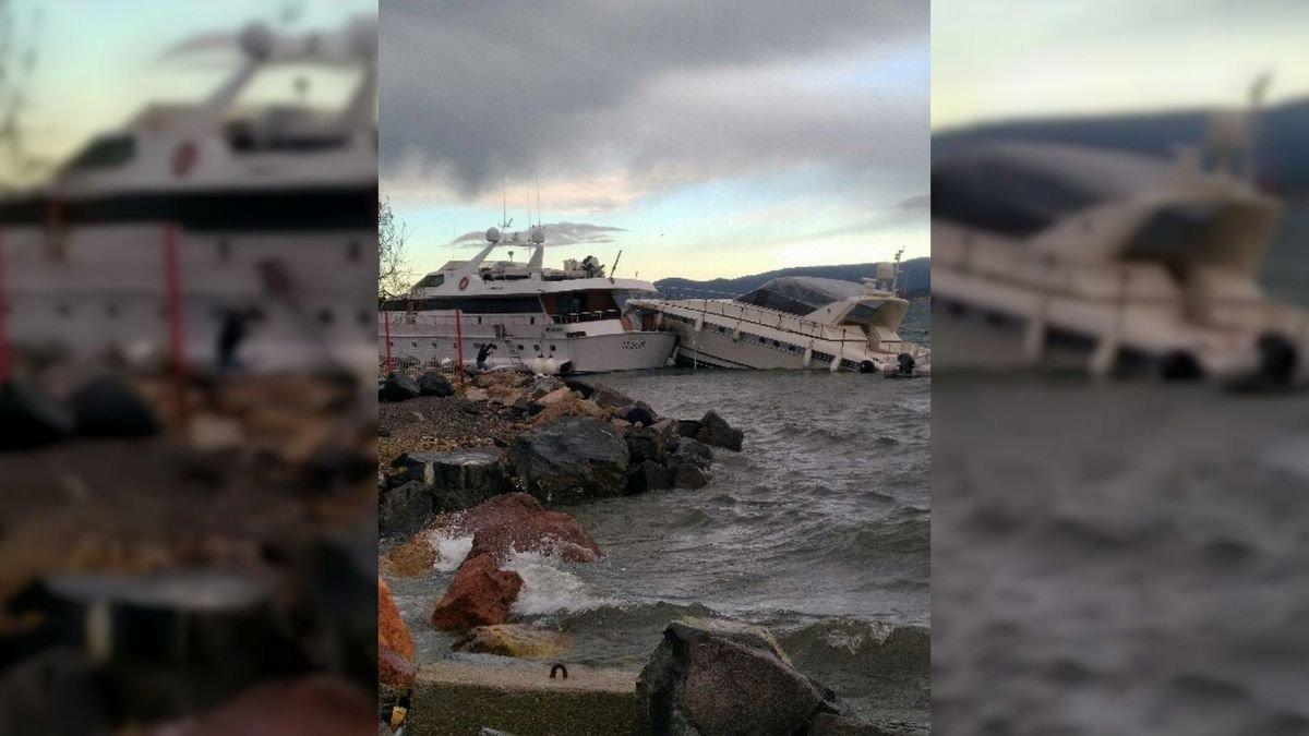 bateau 14 4220351.jpg?resize=412,232 - Deux yachts se percutent à St Tropez. Les propriétaires ne vont pas être heureux!