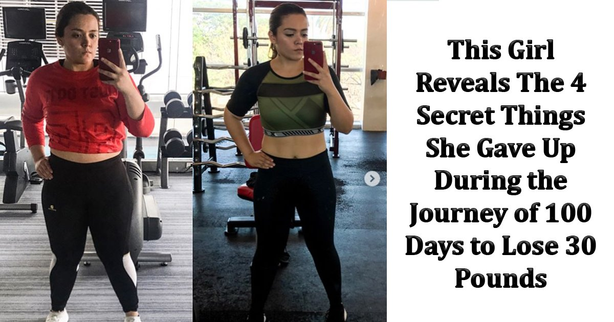 bbb 1.jpg?resize=412,232 - This Girl Revealed The 4 Secret Things She Gave Up During Her Journey Of 100 Days To Lose 30 Pounds