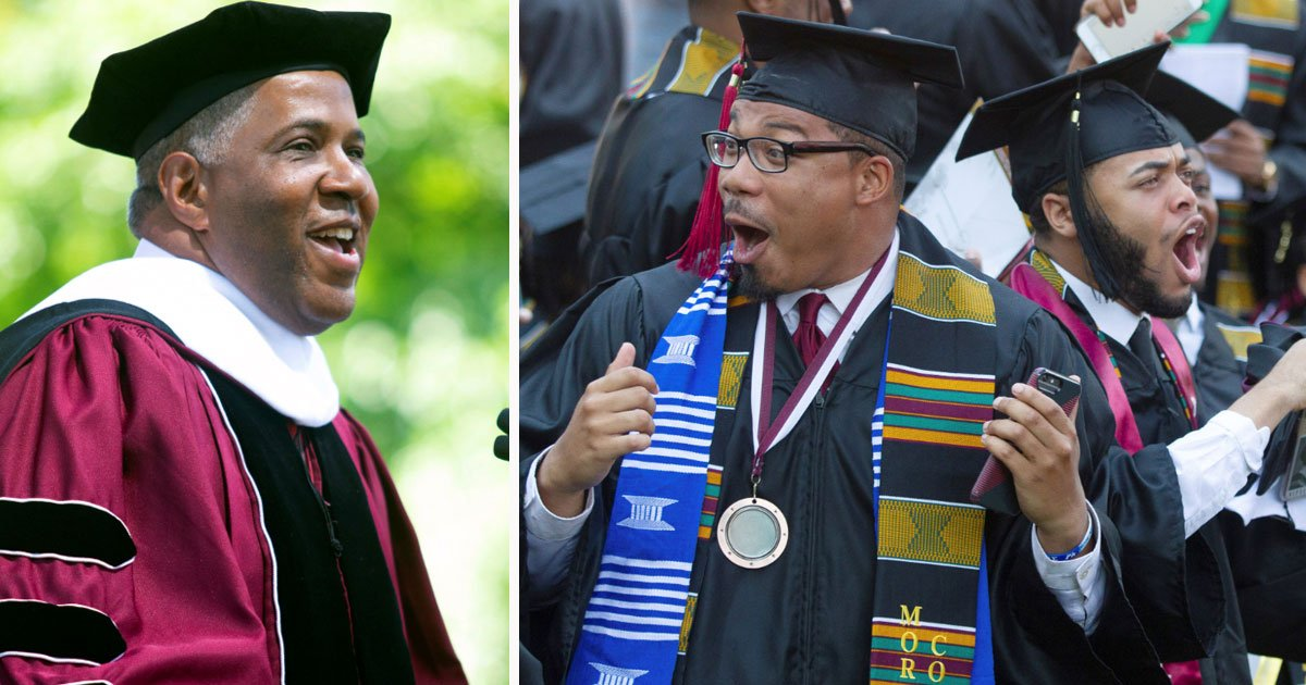 billionare paid off student loan.jpg?resize=1200,630 - Billionaire Robert F. Smith Paid Off Student Loan For An Entire Graduating Class Of Morehouse College