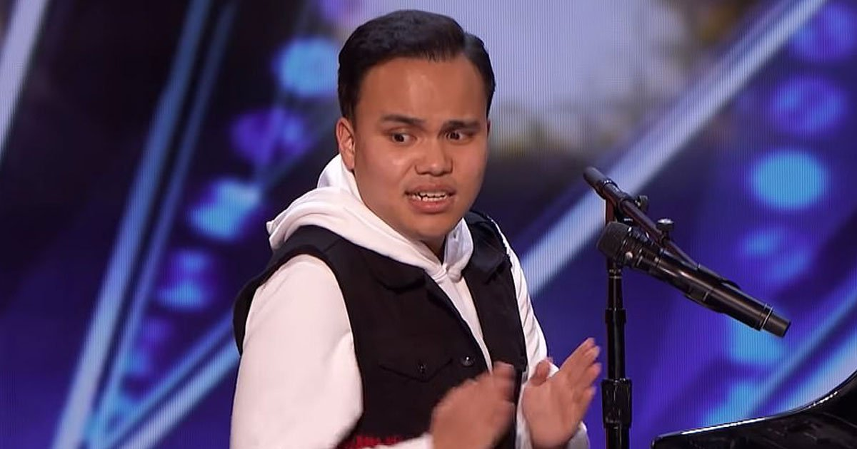 blind autistic singer got talent.jpg?resize=1200,630 - Blind Autistic Singer Left Everyone Teary-Eyed On America's Got Talent - Got Golden Buzzer And Standing Ovation For His Astonishing Performance
