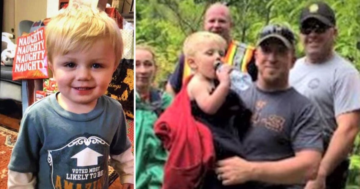 boy missing found.jpg?resize=412,232 - 22-Month-Old Missing Boy Found In An Old Mine After Three Days