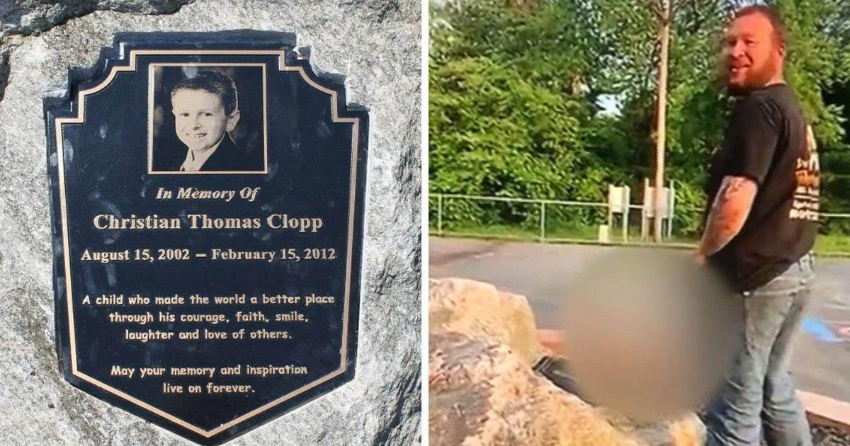 bryan3.png?resize=1200,630 - 23-Year-Old Man Urinates On Playground Memorial Of 9-Year-Old Boy Who Died Of Cancer