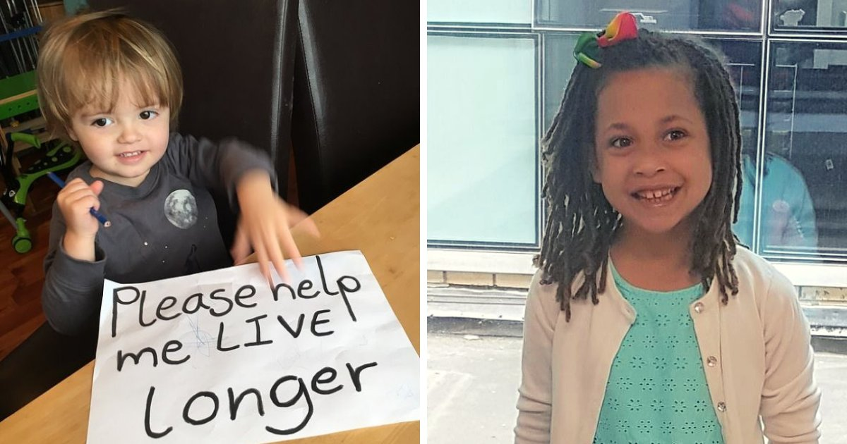 children.png?resize=1200,630 - 'Please Don't Let Us Die': Children Beg Healthcare System To Fund 'Wonder Drug' That Could Help Extend Their Lives