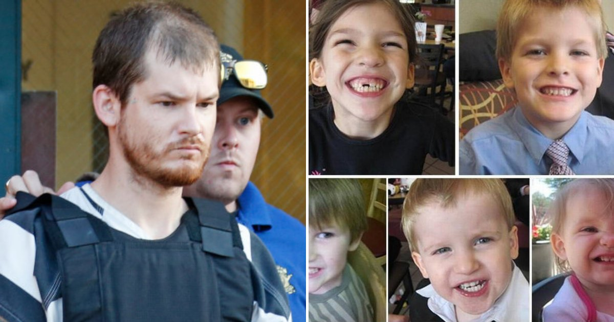 children3.png?resize=1200,630 - 37-Year-Old Father Murdered His Five Children After They Returned From A Trip To Disney World