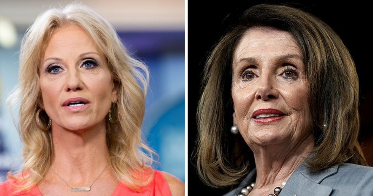 d2 18.png?resize=1200,630 - Kellyanne Conway Says That Pelosi Treats Her Like a Hired Help