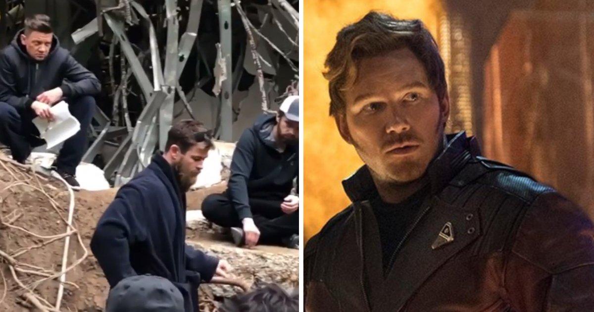 """d2.png?resize=1200,630 - Une vidéo """"illégale"""" a été partagée par Chris Pratt sur le tournage de Avengers: Endgame"""