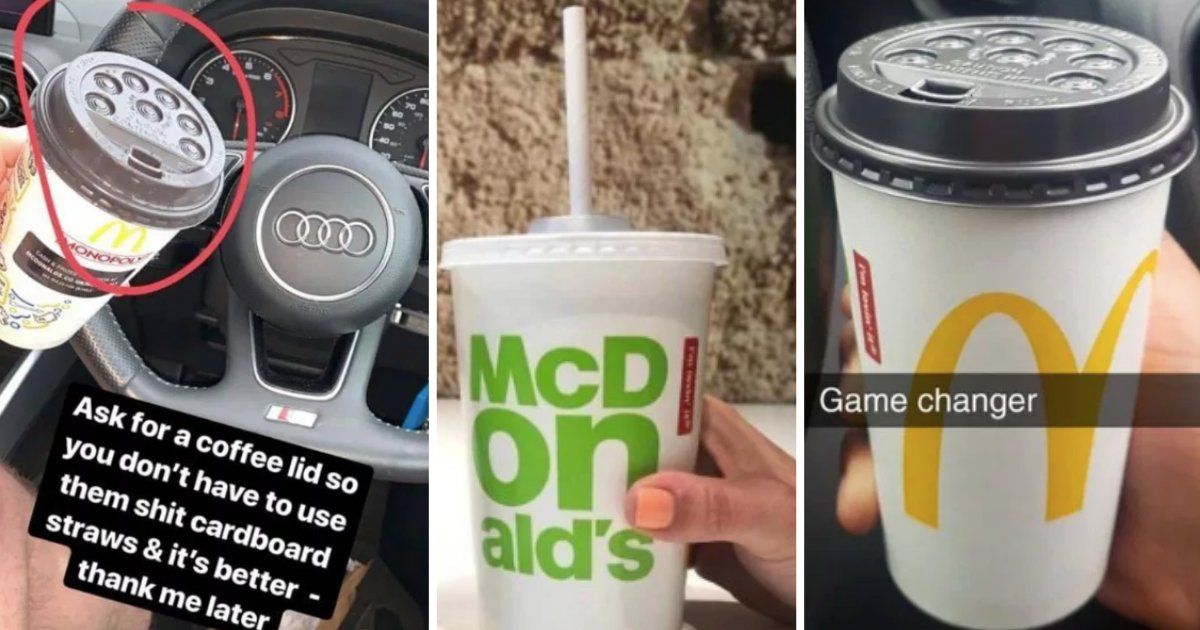 d3.png?resize=412,232 - All the McDonald's Customers are Using Plastic Coffee Lids to Avoid the Paper Straws
