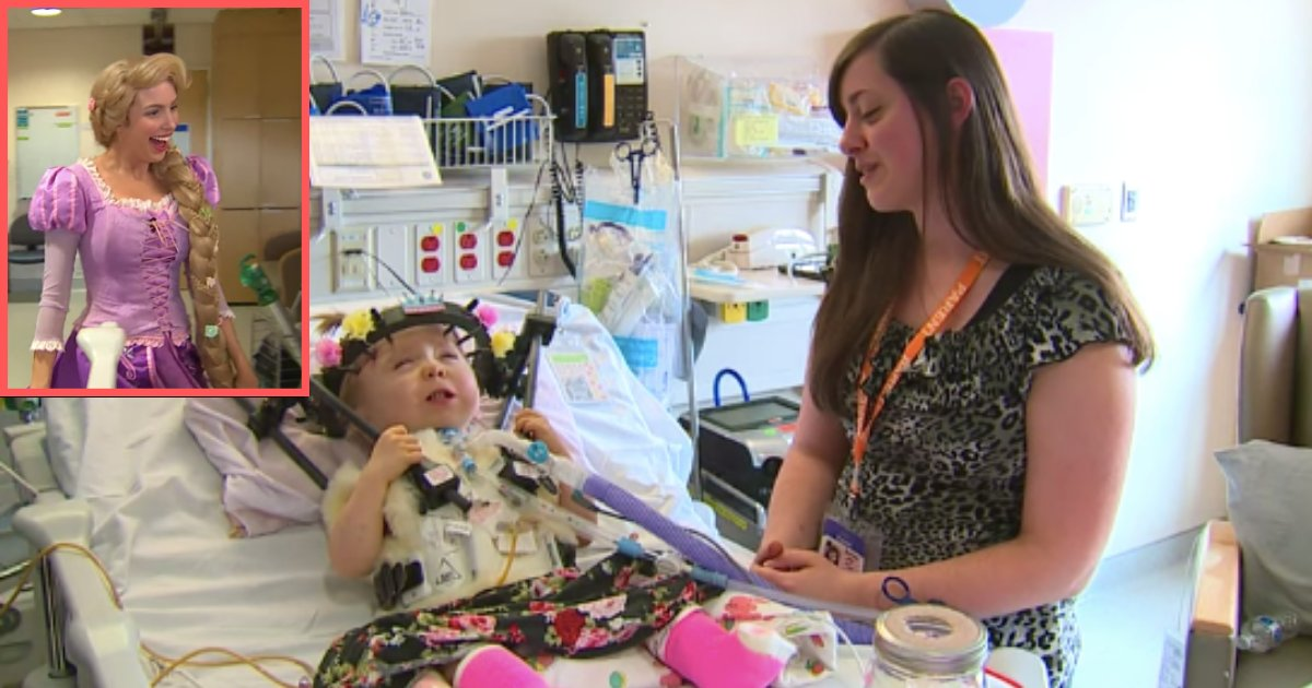 d4 15.png?resize=1200,630 - A 9 Weeks Premature Toddler Gets Disney Princess Send-offs From The Hospital