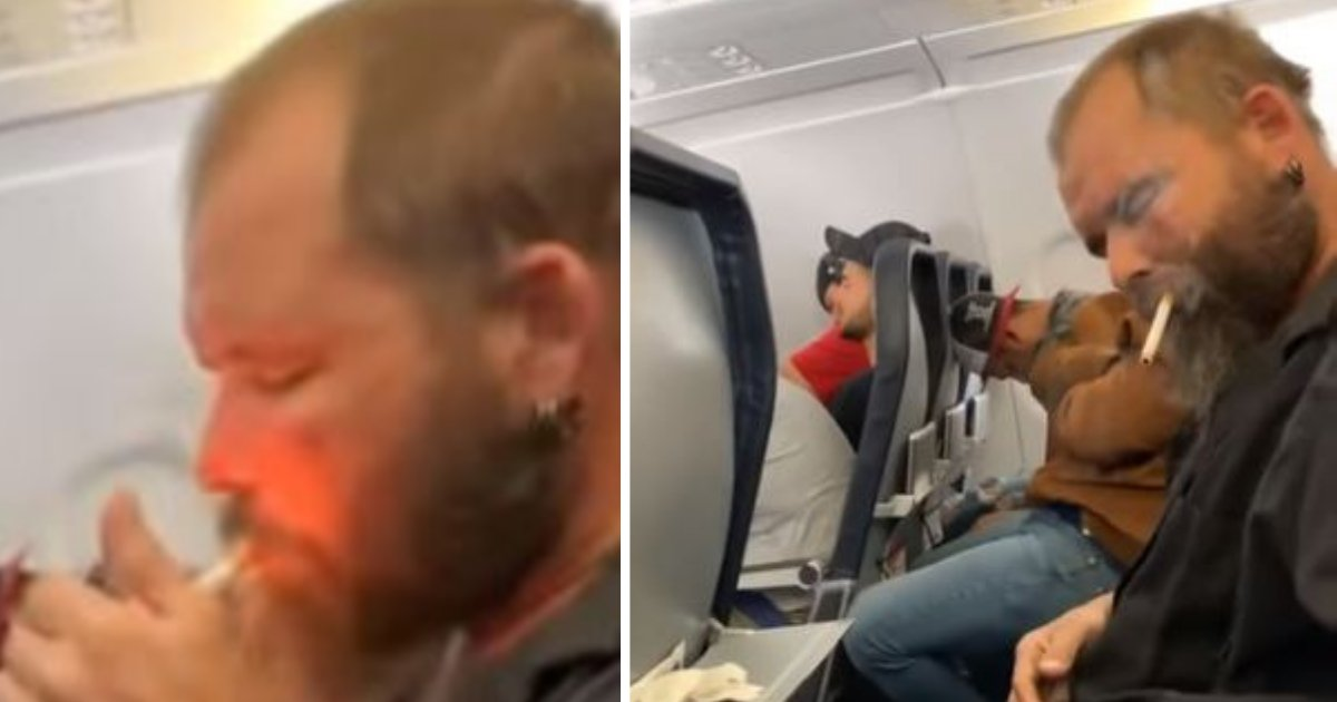 d4 17.png?resize=412,232 - One Passenger Lights Up a Cigarette During His US Flight